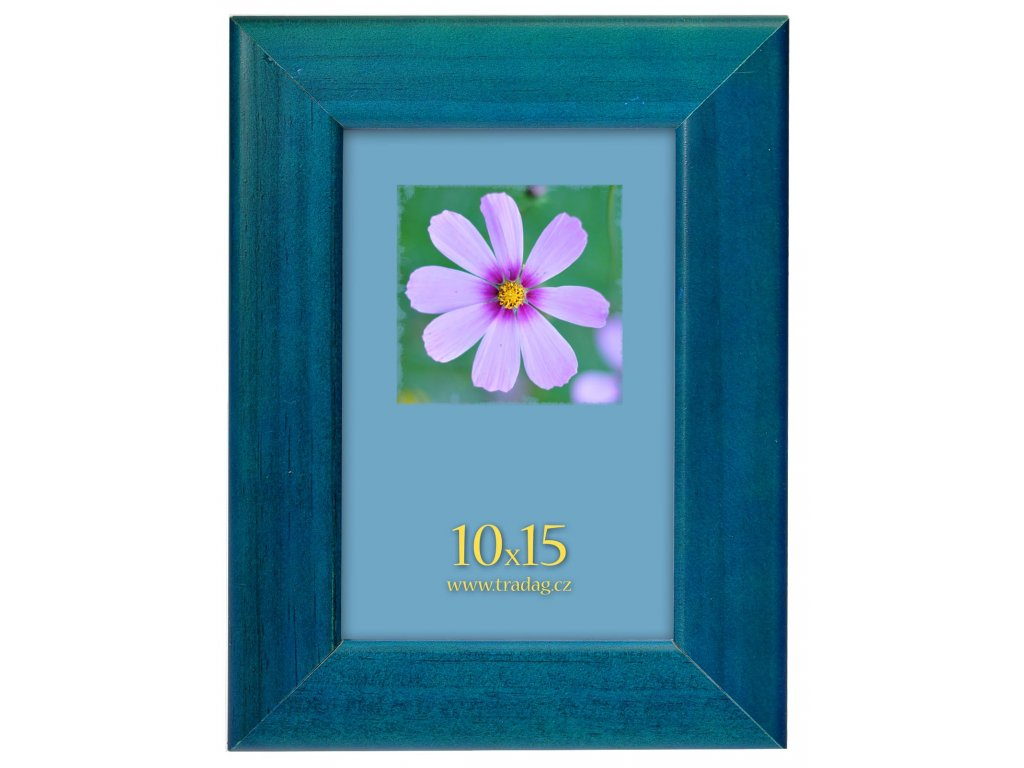ramecek colour modry 10x15