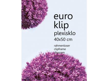 euroklip plexi 40x50