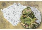 Stírací mapy - samostatné