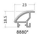 rámeček na fotky kovový - stříbrný