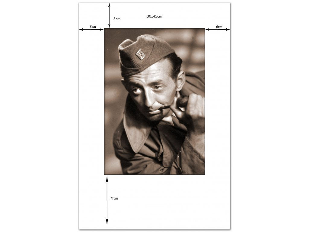 pasparta 30x45, výsek 20x29 portrétní