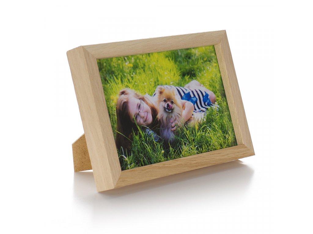 dubový rámeček na foto 10x15cm