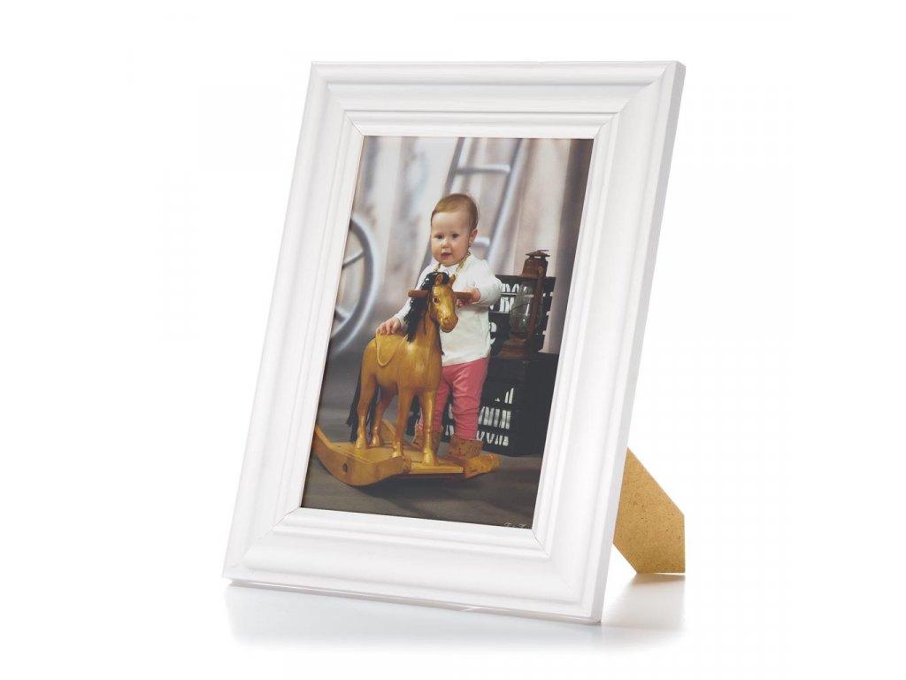 Bílý rámeček na foto 15x21 01