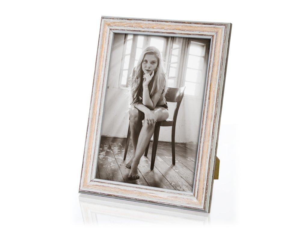 Dřevěný rámeček  - imitace starého rámu - šířka lišty 23mm