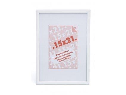 rámeček na foto bílý hliníkový 9045 10x15