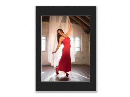 Pasparta do rámečku 21x30cm  výsek na foto 15x21cm, 18x24cm