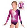 Gymnastický dres závodní D37d-52_t208 růžová