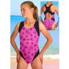 Dívčí sportovní plavky jednodílné PD256vv345