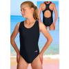 Dívčí sportovní plavky jednodílné PD31 černá