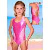 Dívčí sportovní plavky jednodílné PD513sl červená