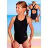 Dívčí sportovní plavky jednodílné PD533 růžová