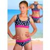 Dívčí sportovní plavky dvoudílné PD541v486