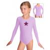 Gymnastický dres B37d_n7 světle fialová