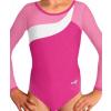 Gymnastický dres B37d-18 růžovo-bílá