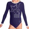 Gymnastický dres B37d-58_f13 tmavě modrá