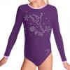 Gymnastický dres B37d-58_f15 fialová