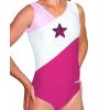Gymnastický dres B37r-35_n růžovo-bílá