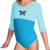 Gymnastický dres B37tr-dv_n1 tyrkysová