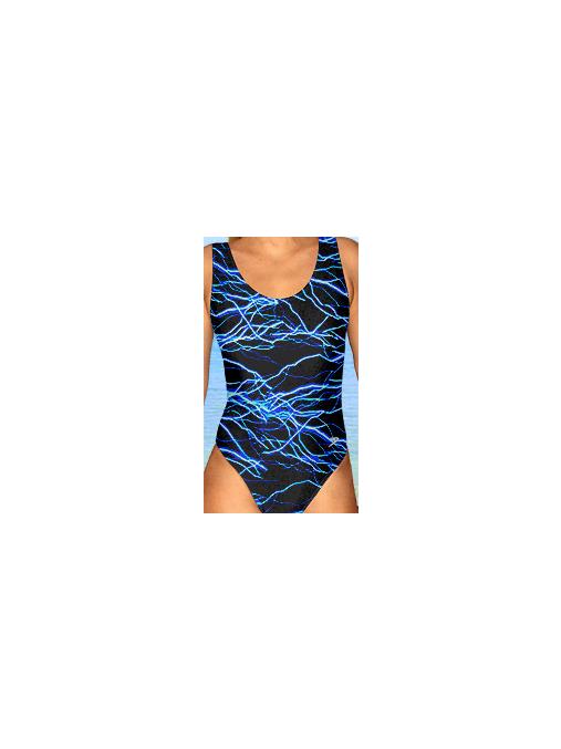 Dámské sportovní plavky jednodílné P1v345