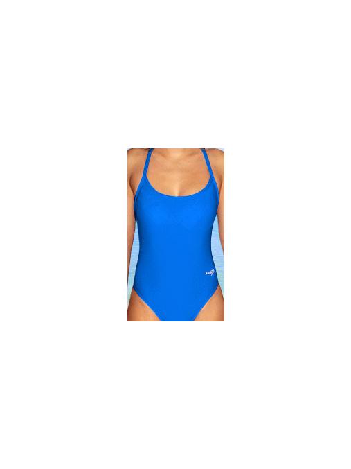 Dámské sportovní plavky jednodílné P250 modrá