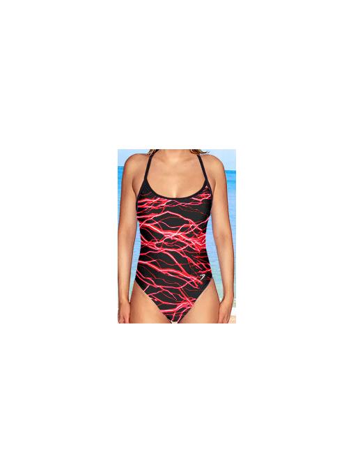 Dámské sportovní plavky jednodílné P250v450