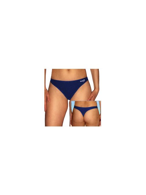 Plavkové  kalhotky tanga P262kalhx tmavě modrá