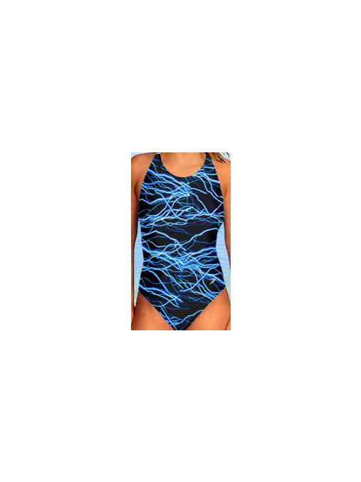 Dámské sportovní plavky jednodílné P620v345