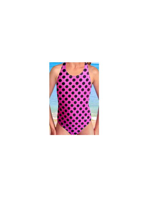 Dívčí sportovní plavky jednodílné PD545v333