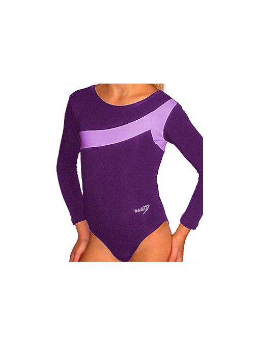 Gymnastický dres B37d-7 fialová