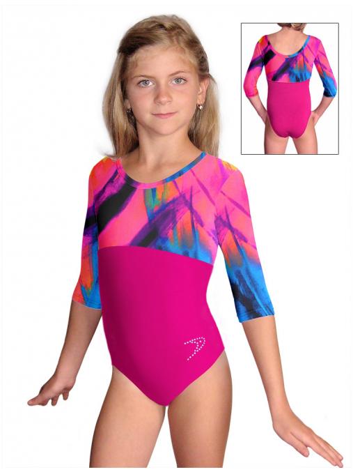 Gymnastický dres závodní D37tr-dv492