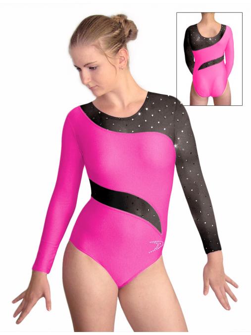 Gymnastický dres závodní D37d-42xx130_657