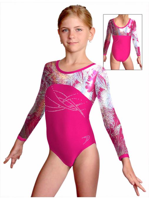 Gymnastický dres závodní D37d-1v497