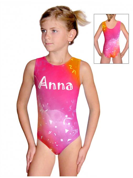 Gymnastický dres D37r_t209