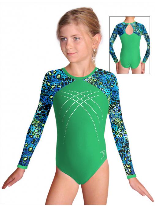 Gymnastický dres závodní D37d-5 v321 f38xx