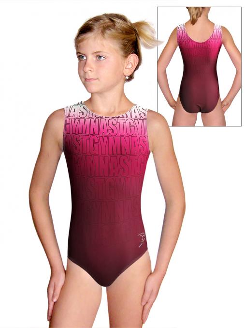 Gymnastický dres D37r t150 růžová