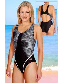 Dámské sportovní plavky jednodílné P241vx