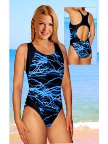 Dámské sportovní plavky jednodílné P256vv345