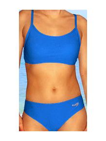 Dámské sportovní plavky dvoudílné P277 modrá
