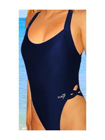 Dámské plavky jednodílné P10 tmavě modrá