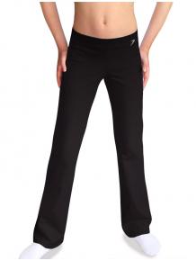 Sportovní kalhoty zvonové B36z černá