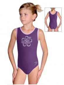 Gymnastický dres B37r_f4 fialová