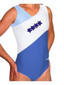 Gymnastický dres B37r-35_n modro-bílá