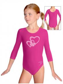 Gymnastický dres B37tr_k303 růžová
