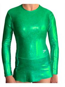 Dres na moderní gymnastiku - trikot M900 zelená
