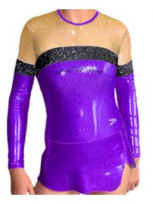 Dres na moderní gymnastiku - trikot M902 fialová