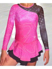 Krasobruslařské šaty - trikot K724v458