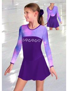 Krasobruslařské šaty - trikot K738v453
