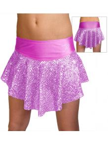 Taneční sukně K802flb světle fialová