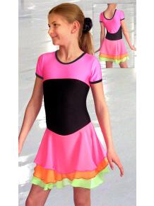 Krasobruslařské šaty - trikot K721fx