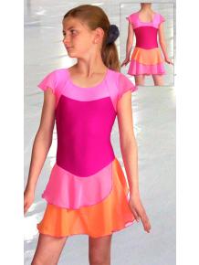 Krasobruslařské šaty - trikot K720fx
